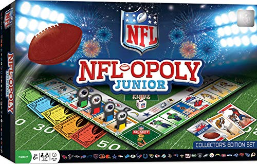 - MasterPieces NFL-Opoly Junior Board Game