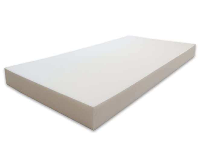 Marcapiuma - Colchón para cuna 60x120 alto 10 cm - BAMBY - colchón para bebé de WaterFoam Transpirable - Recubrimiento desenfundable Antialérgico Antiácaros ...
