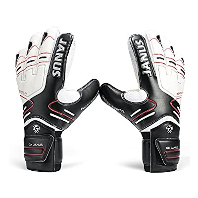 Youth&Adult Goalie Goalkeeper Gloves by Winnas,Strong Grip for The Toughest Saves, With Finger Spines to Give Splendid Protection to Prevent Injuries