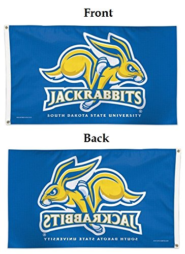 WinCraft NCAA South Dakota State Deluxe Flag, 3' x 5'
