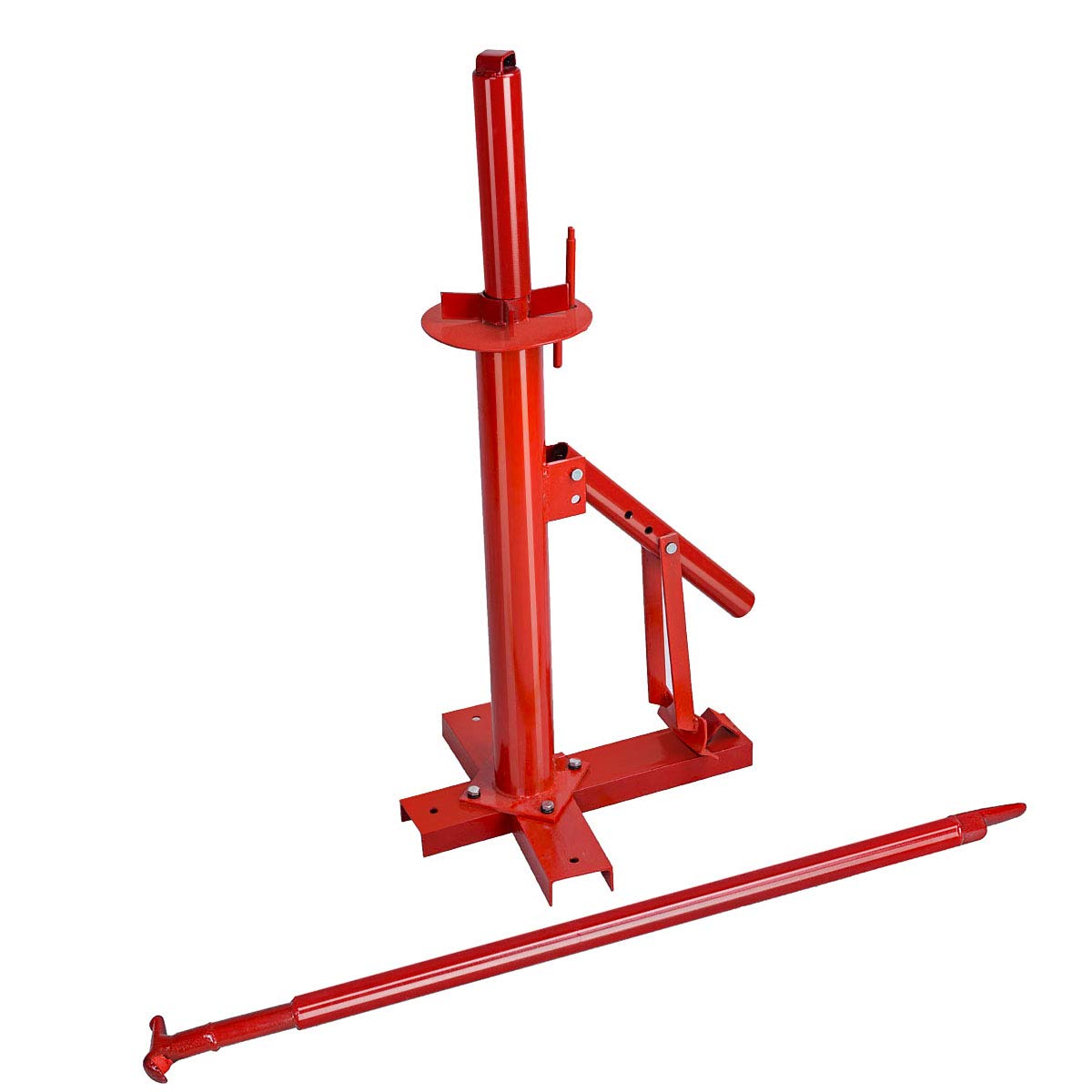 Goplus Manual Portable Hand Tire Changer Bead Breaker Tool Mounting Home Shop Auto by Goplus (Image #4)