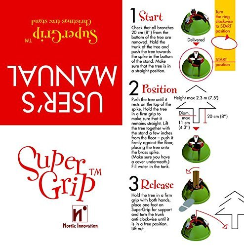 Christmas Tree Stand - Easy Release Super Grip by Super Grip (Image #1)