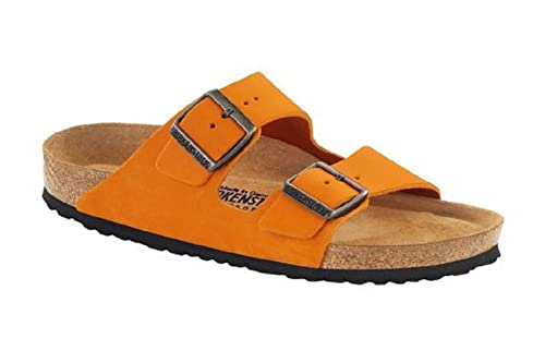 d10e4fa7e1a4 Birkenstock Women s Arizona 057793 Nubuck Leather (Narrow Fit) Sandal (41  EU