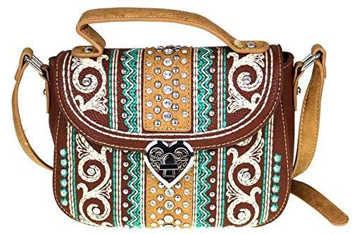 Montana West Bling Bling Collection Crossbody Handbag Purse