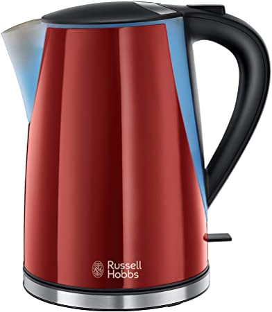 DAMAGED BOX Red RUSSELL HOBBS Cavendish