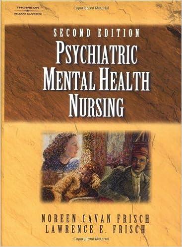 Livres gratuits à télécharger pour téléphones Android Psychiatric Mental Health Nursing by Noreen Cavan Frisch (2001-09-07) PDF CHM ePub