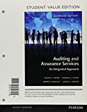 Auditing and Assurance Services, Student Value Edition Plus MyAccountingLab with Pearson EText -- Access Card Package 16th Edition