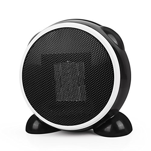 Space Heater- Personal Portable Mini Electric Ceramic Heater, Over-Heat Protection, Tilt-Protection, Multifunctional Rotatable Warm and Natural Wind for Home Office Ceramic Heaters