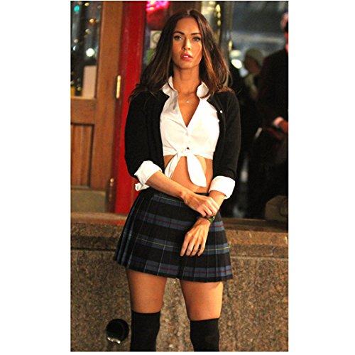 Megan Fox 8 Inch x10 Inch Photo Transformers Teenage Mutant Ninja Turtles Catholic School Girl Outfit Pose 1 kn