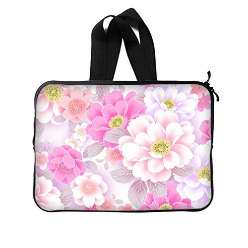 [JIUDUIDODO Custom Halloween Gift Cute Pink Neoprene Laptop Sleeve 14