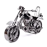 EQLEF® Creative Iron motorcycle model Harley-Davidson motorcycle modern ornaments birthday present for boyfriend Photography Props