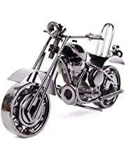 EQLEF® Creative Iron motorcycle model modern ornaments birthday present for boyfriend Photography Props (type1)