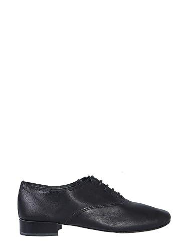 taille 40 369f1 95262 Repetto Femme V377c410 Noir Cuir Chaussures À Lacets: Amazon ...