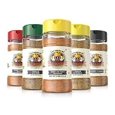 #1 Best-Selling 5oz. Flavor God Seasonings - Gluten Free, Low Sodium, Paleo, Vegan, No MSG (SINGLE SEASONING)