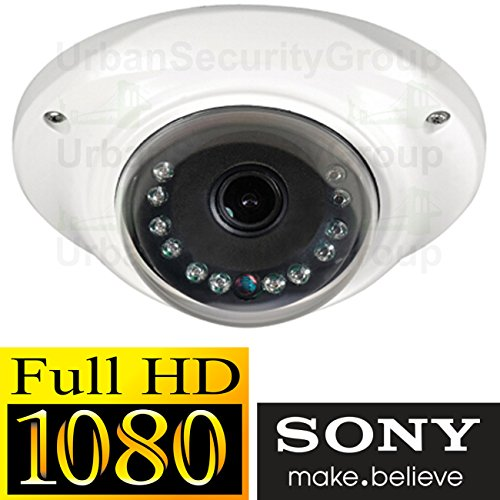 USG 2MP 1920x1080 Low Profile Dome Security Camera : 3.6mm Wide Angle HD Lens : Weatherproof Vandal-proof : 10x IR LEDs : BNC Connector : Easy-To-Mount 2 Piece Design : ()