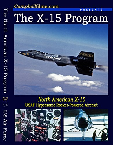 - North American X-15 Rocket Powered Manned winged Test Aircraft
