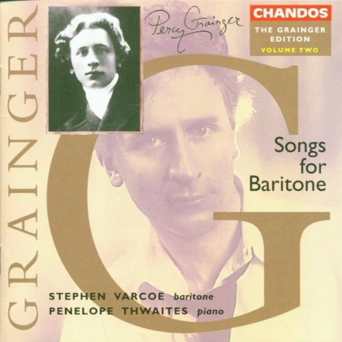 Grainger Edition, Volume 2: Songs For Baritone, including Willow, Willow; Six Dukes Went A-Fishin', British Waterside (The Jolly Sailor), Bold William Taylor, Lukannon, Sailor's Chanty, Shallow - Shop Waterside