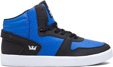 Supra - Zapatillas de Charol para Hombre Azul Azul 47.5EU: Amazon.es: Zapatos y complementos