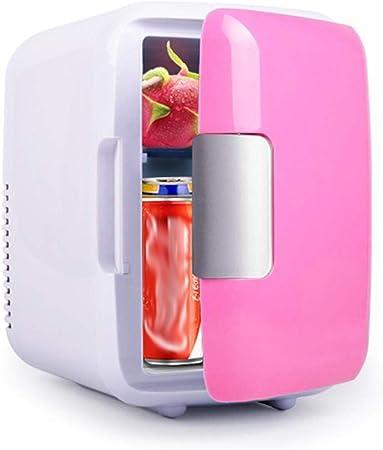 Trenlp Household Cooler Heater Refrigerator Portable Car Freezer 4L Mini Fridge Beverage Refrigerators