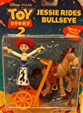 Toy Story 2 Jessie Rides Bullseye Figure Set Mattel 3 Inch High Action Figure Set