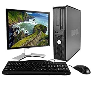Dell OptiPlex Desktop (Intel Core2Duo 2.0GHz CPU, 160GB, 4GB Memory, Windows Professional 32-Bit) w/ 19in LCD Monitor (brands may vary) (Certified Refurbished)