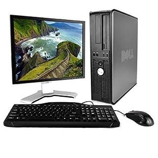 Dell OptiPlex (Intel Core2Duo 2.0GHz CPU, 160GB, 4GB Memory, Windows 7 Professional) w/ Dell 19inch LCD Monitor (Renewed)