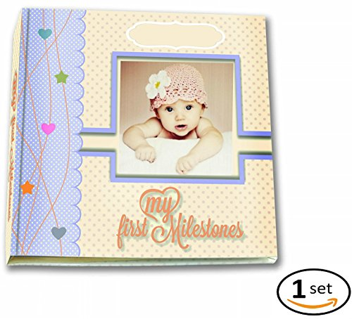 Premium-Baby-Memory-Book-By-BabyCute-Just-Add-Summer-Personalized-Album-For-Keepsakes-Photos-The-Perfect-Scrapbook-To-Record-Your-Toddlers-First-Five-Years-Of-Milestones-Memories