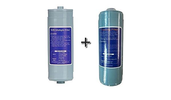 Jupiter Biostone agua ionizador Nano uf, 0,01 m Filtro de recambio ...