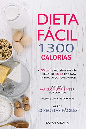 Dieta de 1300 calorias con menus