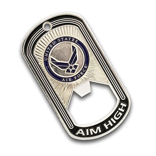 best Air Force Challenge Coin - Dog Tag - Bottle Opener Coin