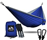 Rest In Absolute Comfort and Relax Anytime, Anywhere with the Best, Double Camping Hammock by Arbor Creek Outfitters!       Are you looking for the perfect camping hammock to relax for an afternoon catnap?    Would you like an extremely durab...