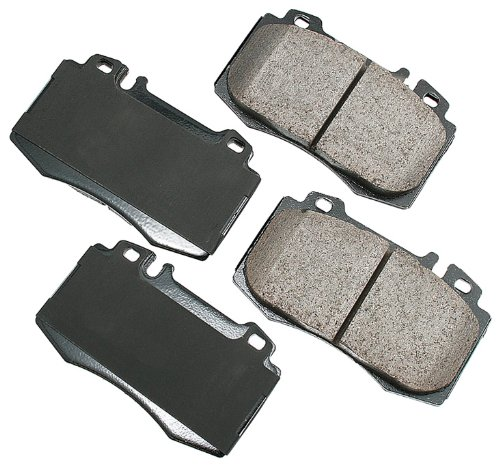 (Akebono EUR847 EURO Ultra-Premium Ceramic Brake Pad Set)