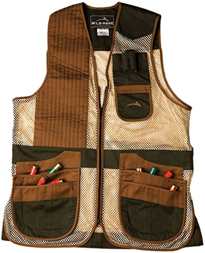 Wild Hare Shooting Gear Heatwave Mesh Vest (Youth Large, Left) by Wild Hare Shooting Gear