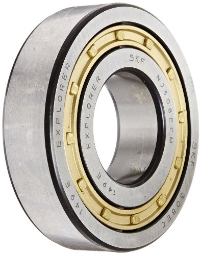 skf-nj-308-ecm-cylindrical-roller-bearing-removable-inner-ring-flanged-high-capacity-machined-brass-