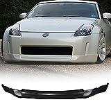 2003 350z front bumper - 03-05 Nissan 350Z Ing-S Style Urethane Front Bumper Lip Spoiler