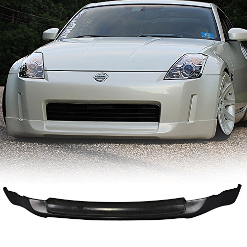 03-05 Nissan 350Z Ing-S Style Urethane Front Bumper Lip Spoiler