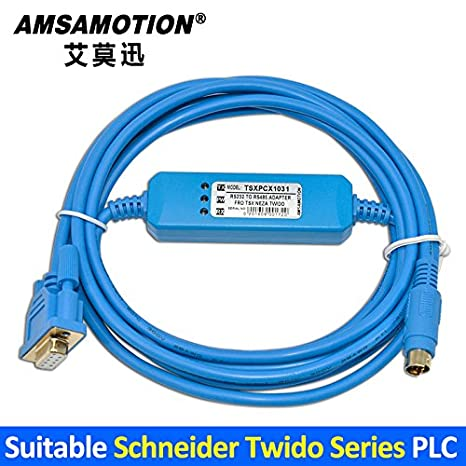 Fits For Schneider Twido Series PLC Programming Cable TSXPCX1031 Download Line
