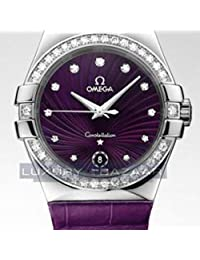 Omega Omega quartz womens Watch 123.18.35.60.60.001 (Certified Pre-owned)