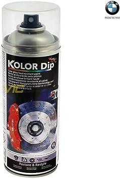 Spray De Pintura Anticalórica Para Pinzas De Freno Barniz Protección Y Brillo Amazon Es Coche Y Moto