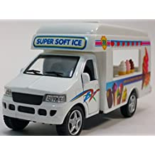 Kinsmart Route 88 Soft Ice Cream Vending Camper 1/43 O Scale Diecast Truck