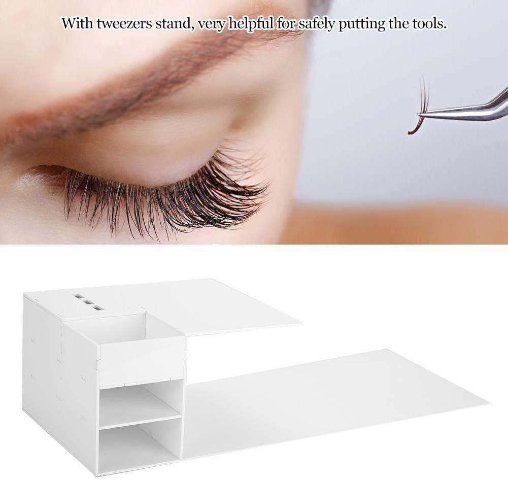 Professional Acrylic Eyelash Extension Pillow Shelf Stand With Tweezers Rack Eyelash Extensions Pillow Shelf Support Extension Grafting Eyelashes For Eyelash Beauty