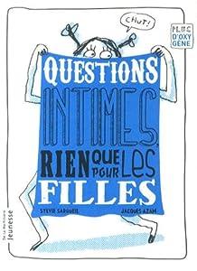 """Afficher """"Questions intimes rien que pour les filles"""""""