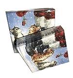 40-ct Cat Christmas Napkins | Christmas Paper