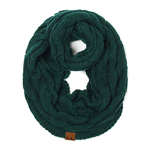 dd9ee8e384 Amazon.com: Wasab: 2018 New Thick Warm Winter Snood Scarf Women ...