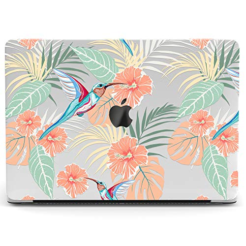 Wonder Wild Mac Retina Cover Case for MacBook Pro 15 inch 12 11 Clear Hard Air 13 Apple 2019 Protective Laptop 2018 2017 2016 2015 Plastic Print Touch Bar Flowers -