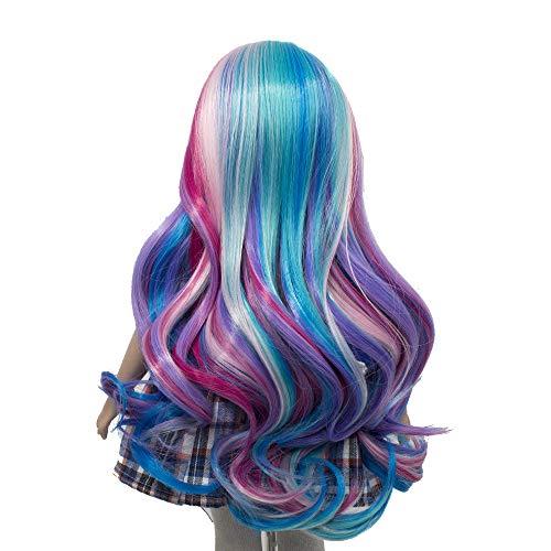 MUZI WIG Rainbow Curly Resist product image