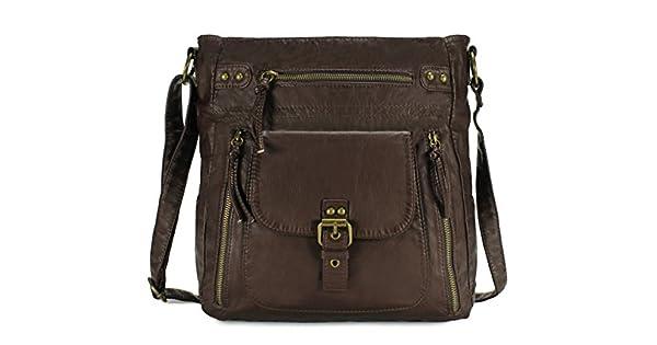 Scarleton Soft Penta Pocket Crossbody Bag H2005