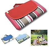 "Zipsom Picnic Blanket - Foldable Waterproof Blanket Picnics, Beach & Outdoor use ""79 x 59"" | Sturdy Build, Portable Design, Waterproof & Sand Proof Safe Kids"