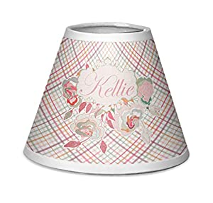 Amazon modern plaid floral chandelier lamp shade modern plaid floral chandelier lamp shade personalized aloadofball Image collections