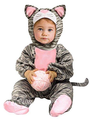 Fun World - Little Stripe Kitten Infant Costume - Infant (12/24 Months)